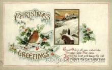 hol050025 - Artist Ellen Clapsaddle, Christmas Postcards Post Card