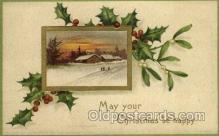 hol050029 - Artist Ellen Clapsaddle, Christmas Postcards Post Card
