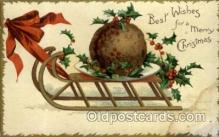 hol050037 - Artist Ellen Clapsaddle, Christmas Postcards Post Card
