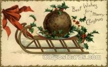 hol050038 - Artist Ellen Clapsaddle, Christmas Postcards Post Card
