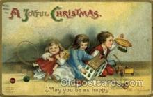 hol050046 - Artist Ellen Clapsaddle, Christmas Postcards Post Card