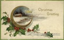 hol050050 - Artist Ellen Clapsaddle, Christmas Postcards Post Card