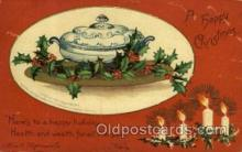 hol050052 - Artist Ellen Clapsaddle, Christmas Postcards Post Card