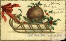 hol050053 - Artist Ellen Clapsaddle, Christmas Postcards Post Card