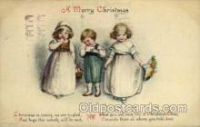 hol050064 - Artist Ellen Clapsaddle, Christmas Postcards Post Card