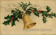 hol050069 - Artist Ellen Clapsaddle, Christmas Postcards Post Card