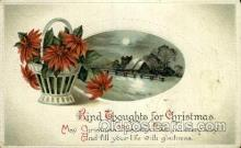 hol050080 - Artist Ellen Clapsaddle, Christmas Postcards Post Card