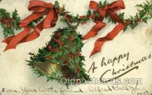 hol050083 - Artist Ellen Clapsaddle, Christmas Postcards Post Card