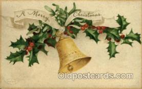 hol050084 - Artist Ellen Clapsaddle, Christmas Postcards Post Card