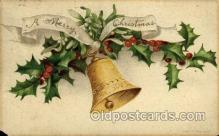 hol050087 - Artist Ellen Clapsaddle, Christmas Postcards Post Card