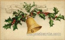 hol050088 - Artist Ellen Clapsaddle, Christmas Postcards Post Card