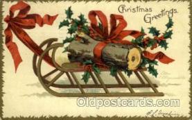hol050089 - Artist Ellen Clapsaddle, Christmas Postcards Post Card