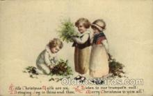 hol050091 - Artist Ellen Clapsaddle, Christmas Postcards Post Card