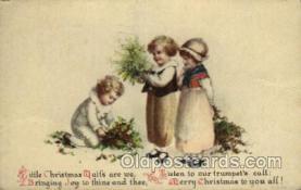 hol050091 - Artist Ellen Clapsaddle, Christmas Postcards Post Card