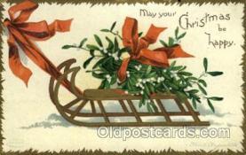 hol050094 - Artist Ellen Clapsaddle, Christmas Postcards Post Card