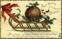 hol050098 - Artist Ellen Clapsaddle, Christmas Postcards Post Card