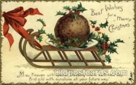 hol050098 - Artist Ellen Clapsaddle, Christmas Postcards Post Card