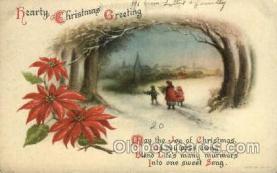 hol050103 - Wold Advertising, Artist Ellen Clapsaddle, Christmas Postcards Post Card