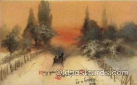 hol050104 - Artist Ellen Clapsaddle, Christmas Postcards Post Card