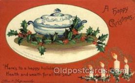 hol050107 - Artist Ellen Clapsaddle, Christmas Postcards Post Card