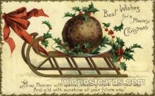 hol050108 - Artist Ellen Clapsaddle, Christmas Postcards Post Card