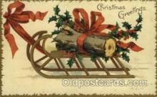 hol050109 - Artist Ellen Clapsaddle, Christmas Postcards Post Card