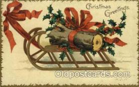 hol050109 - Artist Ellen Clapsaddle, Christmas Postcards Post Card