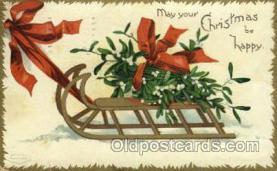 hol050111 - Artist Ellen Clapsaddle, Christmas Postcards Post Card