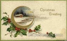 hol050114 - Artist Ellen Clapsaddle, Christmas Postcards Post Card