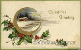 hol050114 - Artist Ellen Clapsaddle, Christmas Postcards Post Card