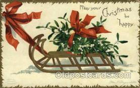 hol050116 - Artist Ellen Clapsaddle, Christmas Postcards Post Card
