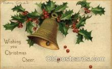 hol050122 - Artist Ellen Clapsaddle, Christmas Postcards Post Card
