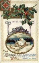 hol050123 - Artist Ellen Clapsaddle, Christmas Postcards Post Card