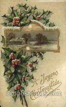 hol050140 - Artist Ellen Clapsaddle, Christmas Postcards Post Card