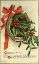 hol050174 - Artist Ellen Clapsaddle, Christmas Postcards Post Card