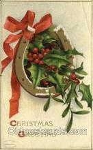 hol050174 - Artist Ellen Clapsaddle, Christmas Postcards Post Card
