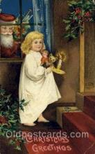 hol050193 - Artist Ellen Clapsaddle, Christmas Postcards Post Card