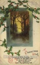 hol050199 - Artist Ellen Clapsaddle, Christmas Postcards Post Card