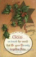 hol050205 - Artist Ellen Clapsaddle, Christmas Postcards Post Card