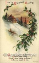 hol050210 - Artist Ellen Clapsaddle, Christmas Postcards Post Card