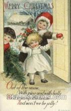 hol050213 - Artist Ellen Clapsaddle, Christmas Postcards Post Card