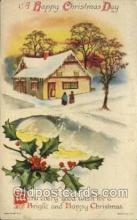 hol050216 - Artist Ellen Clapsaddle, Christmas Postcards Post Card