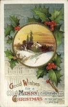 hol050218 - Artist Ellen Clapsaddle, Christmas Postcards Post Card