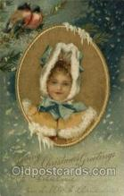 hol050222 - Artist Ellen Clapsaddle, Christmas Postcard Post Cards