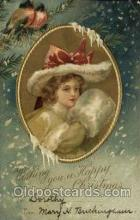 hol050223 - Artist Ellen Clapsaddle, Christmas Postcard Post Cards