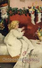 hol050224 - Artist Ellen Clapsaddle, Christmas Postcard Post Cards