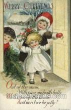 hol050231 - Artist Ellen Clapsaddle, Christmas Postcard Post Cards