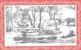 hol050250 - Christmas Postcard, Post Card Old Vintage Antique Carte, Postal Postal