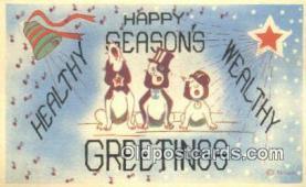 hol050257 - Christmas Postcard, Post Card Old Vintage Antique Carte, Postal Postal