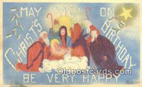 hol050258 - Christmas Postcard, Post Card Old Vintage Antique Carte, Postal Postal